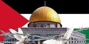 همایش بزرگ حوزویان در «حمایت از نهضت مقاومت و محکومیت جنایات استکبار در فلسطین و افغانستان»