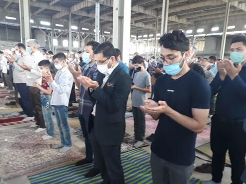 تصاویر/ نماز عید فطر در مصلی بزرگ سمنان