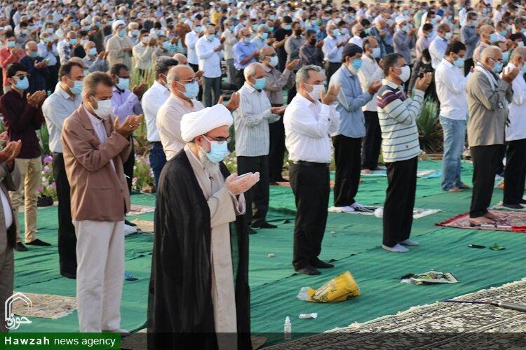 تصویر/ اقامه نماز عید سعید فطر در بوشهر
