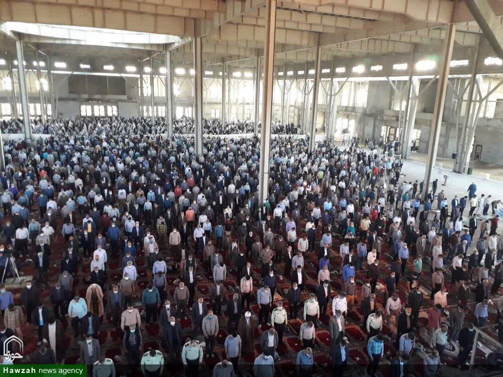 تصاویر/ اقامه نماز عید سعید فطر در سمنان