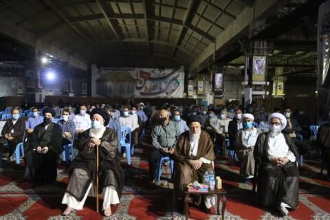 تصاویر/ اولین مراسم تکریم و بزرگداشت عالم ربانی و بزرگوار حاج سید علاءالدین موسوی جزایری