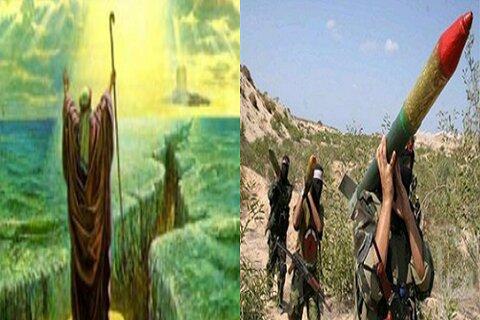 عملیات شمشیر قدس عصای موسی بر سر صهیونیستها