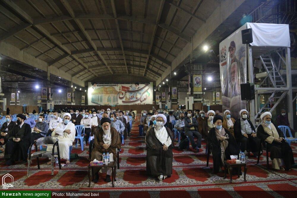 تصاویر/ نخستین آیین بزرگداشت مرحوم حاج سید علاءالدین موسوی جزایری