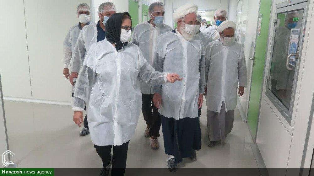 تصاویر/ بازدید امام جمعه کاشان از شرکت باریج اسانس