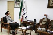 دیدار مدیر حوزههای علمیه و رئیس مرکز خدمات حوزه