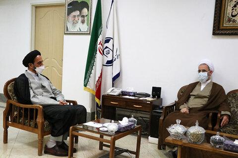 دیدار مدیر حوزه های علمیه با رئیس مرکز خدمات