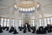 تصاویر/ مراسم گرامیداشت یاد شهدای حادثه تروریستی مکتب سیدالشهدا غرب کابل