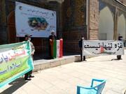 تجمع حوزویان تهران علیه صهیونیست ها و سازشکاران | پناهیان: شاهد سربرآوردن روحیه سازشکاری در کشور هستیم