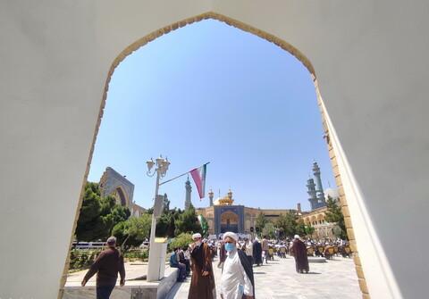تصاویر/ تجمع طلاب و روحانیون در حمایت از مردم فلسطین