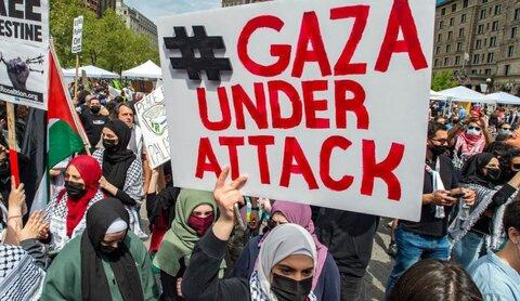 العالم يهتف لنصرة فلسطين