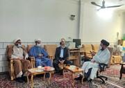 دیدار نمایندگان آیت الله اعرافی با استاد حوزه علمیه