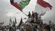 مظاهرات رفضا للعدوان الاسرائيلي ونصرة للقدس