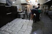 طبخ و توزیع ۵ هزار پرس غذا به همت گروه جهادی بحرالعلوم(ره)