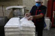 توزیع ۶۰۰ بسته غذای گرم بین نیازمندان خرم آبادی