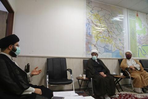 تصاویر/ نشست مسئول عقیدتی سیاسی نیروی انتظامی استان با مدیریت حوزه خوزستان