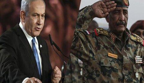 عبد الفتاح البرهان - سودان/ نتانیاهو- اسرائیل