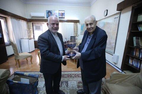 دیدار معاون امور ایران مجمع جهانی تقریب با سفیر فلسطین در تهران