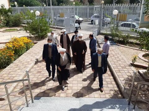تصاویر/ بازدید دوساعته آیت الله سلیمانی از شرکت مخابرات کاشان