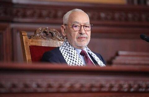 راشد الغنوشی رئیس مجلس نمایندگان تونس