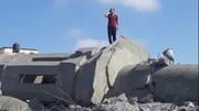 الغارات الإسرائيلية دمرت ۳ مساجد في غزة