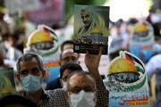 تجمع مردم انقلابی اهواز در محکومیت جنایات رژیم صهیونیستی