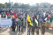 فیلم | تجمع مردم بوشهر در دفاع از مردم مظلوم فلسطین