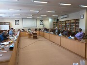 اولین جلسه «مرکز راهبری اقتصادمقاومتی» حوزه علمیه اصفهان برگزار شد