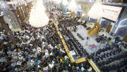 تصاویر/ مراسم عزاداری سالروز تخریب قبور ائمه بقیع در حرم امام حسین (علیه السلام)