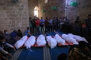 تصاویر/ جنایت های وحشیانه رژیم اسرائیل در نوار غزه