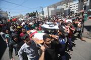 بالصور/ العدوان الوحشي للاحتلال في قطاع غزة