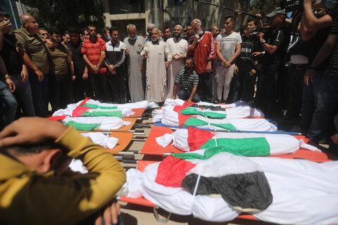 جنایت های وحشیانه رژیم اسرائیل در نوار غزه