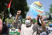 تصاویر/ راهپیمایی مردم شهرکرد در حمایت از مردم مظلوم فلسطین