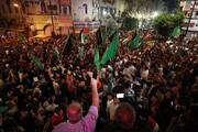 مردم فلسطین در پی اعلام آتشبس جشن گرفتند + تصاویر