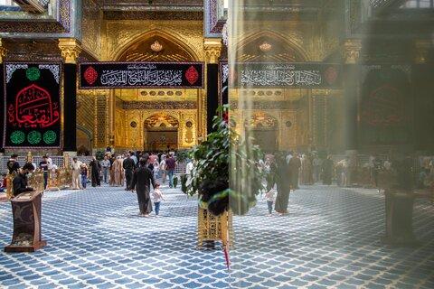 بزرگداشت سالروز تخریب قبور ائمه بقیع در حرم حضرت عباس (ع)