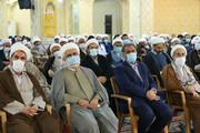 تصاویر / تجلیل از اساتید مدارس علمیه استان قزوین