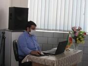 بانوان طلبه میبد مهارت های فعالیت در فضای مجازی را فرا گرفتند