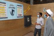 برپایی غرفه انتخابات در مسجد النبی(ص) قزوین