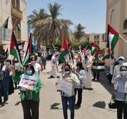 تظاهرات ملت بحرین در همبستگی با فلسطینیها +تصاویر