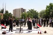 تصاویر   بزرگداشت سالروز آزادسازی خرمشهر در همدان