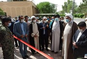افتتاح پایگاه مقاومت بسیج شهید المهندس در فرودگاه آیتالله جمی(ره) آبادان + عکس