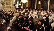 تجمع حاشد لرجال الدين في دمشق دعماً للاستحقاق الدستوري + الصور