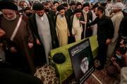 تصاویر/ امام جماعت مسجد کوفہ کی نماز جنازہ علمائے کرام کی موجودگی میں روضہ حضرت امیر المومنین (ع) میں ادا کی گئی