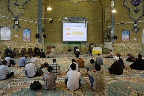 شرکت ۲۵۰ نفر در حلقه های معرفتی مسجد امام رضا(ع) پردیسان