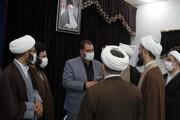 تصاویر   تقویت مناسبات خبری در حوزه علمیه همدان