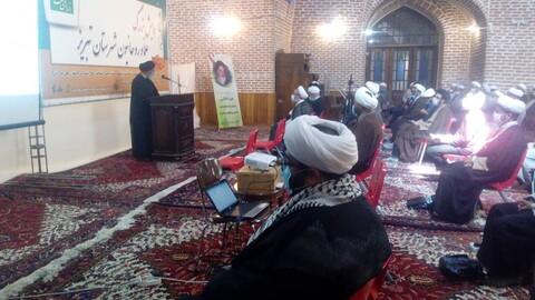 تصاویر / همایش بزرگ بصیرت افزایی سیاسی طلاب و روحانیون تبریز