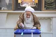 تصاویر آرشیوی از شرکت مراجع در انتخابات