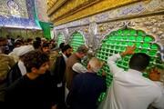 پاکستانی وزیر خارجہ کی حضرت امیر المومینین (ع) کے روضہ اقدس پر حاضری +تصاویر