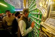 وزير الخارجية الباكستاني يتشرف بزيارة مرقد أمير المؤمنين (عليه السلام)