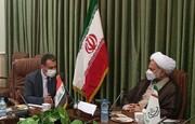 بازدید رایزن فرهنگی عراق در ایران از دانشگاه باقرالعلوم(ع)