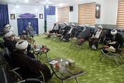 تصاویر/ نشست مسئولین دفاتر نمایندگی ولی فقیه در نهادهای خراسان شمالی